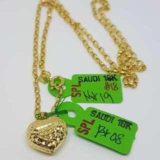 18K Saudi Gold Item