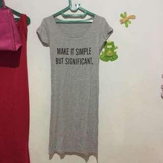 Dress Kaos Import