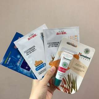 Himalaya Lip Balm & Miscellaneous Face Masks