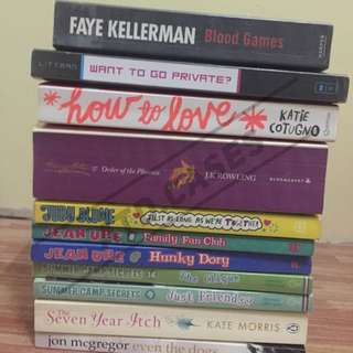 CHEAP PRELOVED BOOKS