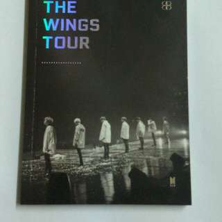 [FOR SALE] BTS WINGS TOUR IN SEOUL PHOTOBOOK