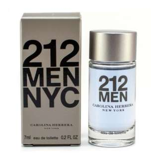 Carolina Herrera 212 Men NYC EDT 7ml