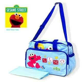 Sesame Street Elmo Diaper Bag