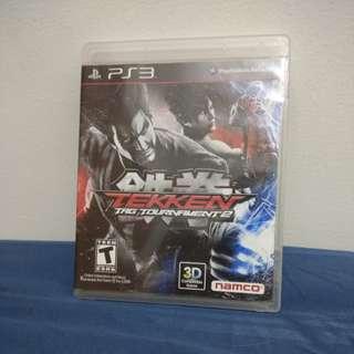 Kaset PS3 Tekken Tag Tournament 2 lengkap dgn buku