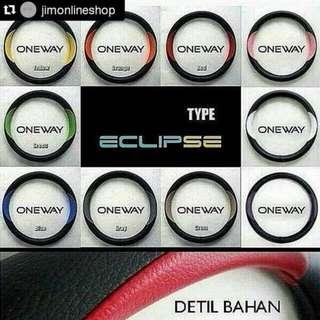 Cover Stir Sarung Setir Mobil Kulit Type Eclipse