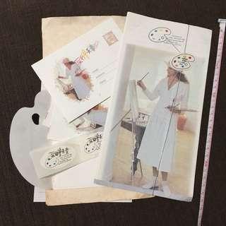信套 Letter Set (8張信紙 4個信封 2張貼紙)
