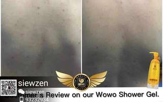 Showergel wowo body wash