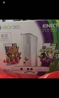 Xbox 360 Kinect (White Version)