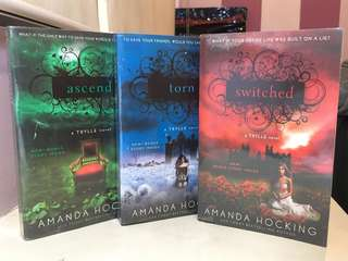 Amanda Hocking's Switched Trilogy (Switched, Torn, Ascend)