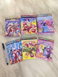 Goodies bag - small colour book