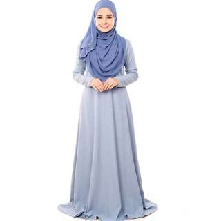 Jubah BAimonds in Smoke Blue