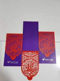 Natixis Red Packet 3pcs