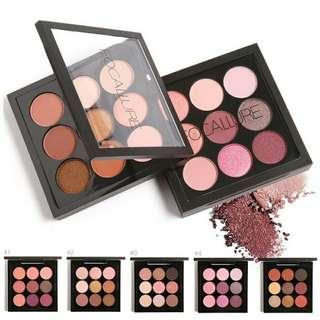 PO 9 colours eyeshadow set