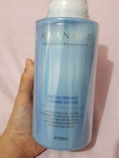 A'pieu Aqua Nature Hydrating Management Deepsea Dewdrop Clearing Softner