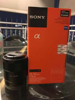 Sony FE 55mm F1.8ZA