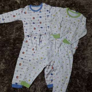 Baju tidur baby 2 set