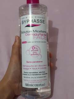 Soin Du Visage Byphasse Solution Micellaire . Micellar Water