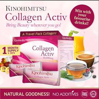Kinohimitsu Collagen Activ Power 1 month supply
