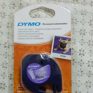 Dymo label maker tape.