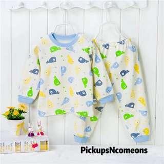 小童家居可愛長袖睡衣