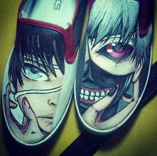Anime Themed Shoes