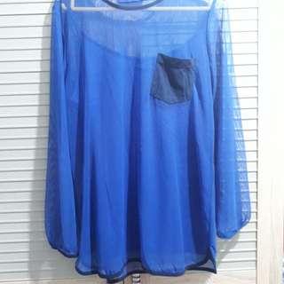 Baju Atasan Jaring FLASHY beli di Indie Clothing