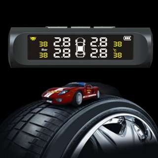 TPMS Tyre Pressure Monitoring System! Powered by Solar! No wiring required
