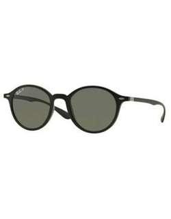 RAY BAN 4237 matte black polarised sunglasses