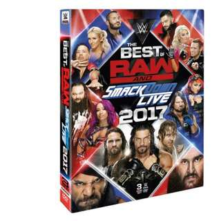 Pre order: WWE Best of RAW & SmackDown Live 2017 DVD!