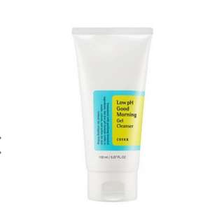 PRE-ORDER: COSRX Low pH Good Morning Gel Cleanser 150ml