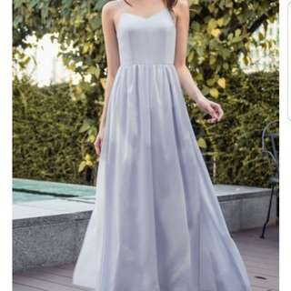 Looking for thread theory in the mist maxi lavender dress
