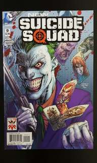 New Suicide Squad #9 Jim Lee's Joker variant