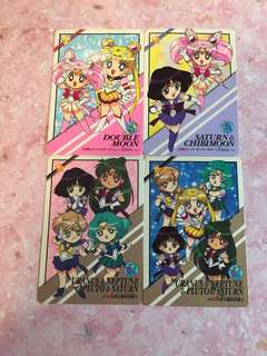 Sailor moon cards (Q ver)
