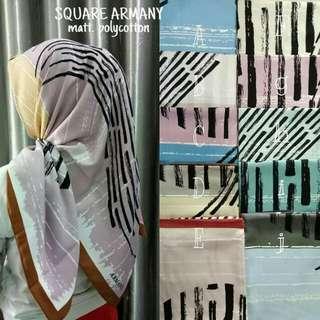 Hijab segiempat armany