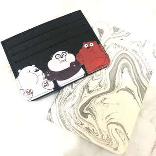 Custom Personalised Card Holder - We Bare Bears