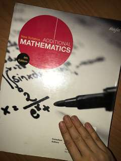 NO WRITING GOOD AS NEW MATHEMATICS TEXTBOOK