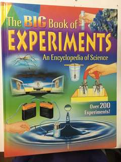 The big book of experiments / An Encyclopedia of Science