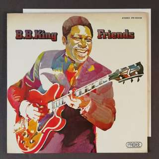 B.B.King jazz blues original LP record audiophile
