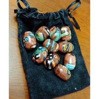 手作材料 手鏈頸鏈 琉璃珠
