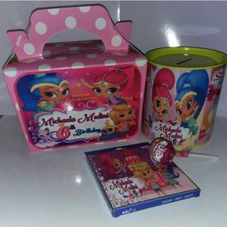Customised Shimmer & Shine Goodie Box