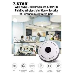 CCTV - cctv camera - Wireless ip camera - Fisheye Cctv Camera (Panoramic View) - VR Camera - 360 Camera 7-STAR* - Cctv installation
