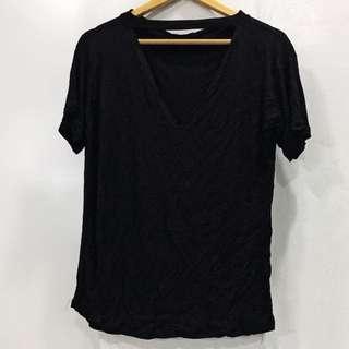 Black choker top