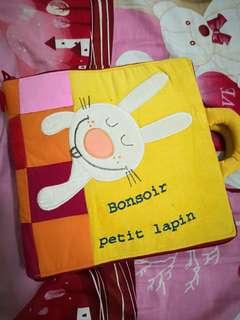 Lilliputiens Quiet book/ fabric book (Good night rabbit)