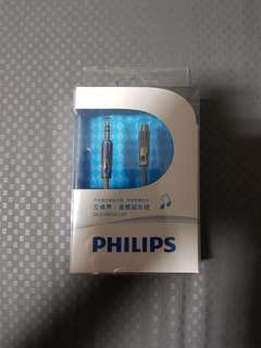 Philips audio extension cable DC3.5/M-SC3.5/F