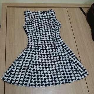 Monochrom Dress