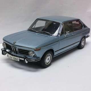 BMW 2000 淨車1:18