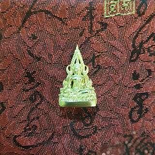 Phra Buddha Chinnarat 2cm x 2.5cm, Wat Phra Si Rattana Mahathat, B.E.2560 (2017)