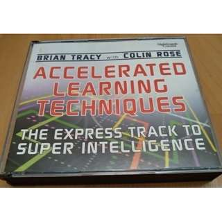 Self Development Audio CD For Motivational and Inspirational - Accelerated Learning Techniques By Brian Tracy With Colin Rose