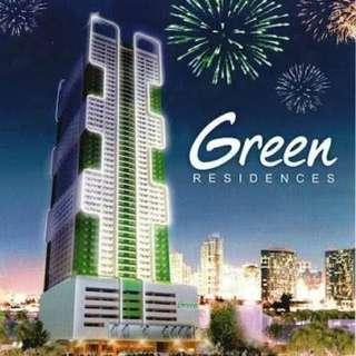 Studio Unit Green Residences