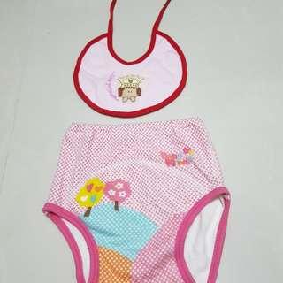 [Free bib] Baby training pants